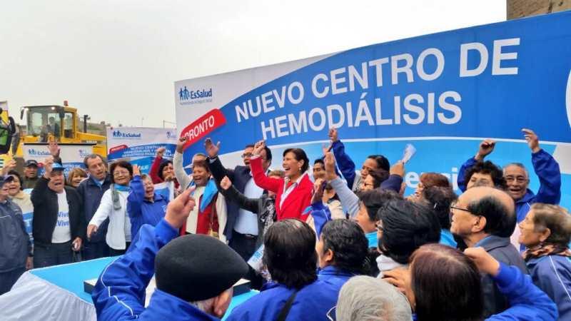 EsSalud construirá moderno Centro de Hemodiálisis y primer Hospital Especializado Geriátrico en el Callao