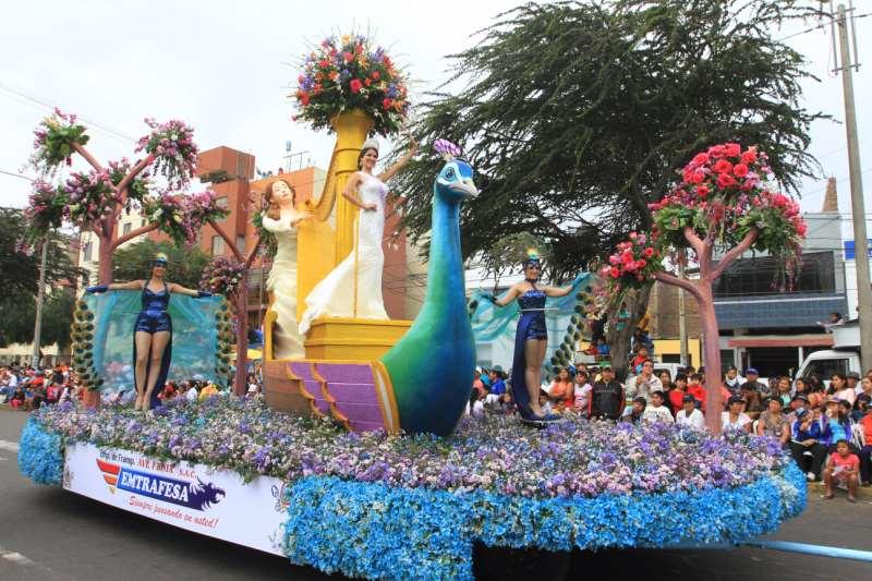 En el concurso de carros alegóricos Emtrafesa se quedó con León de Oro [Fotos]