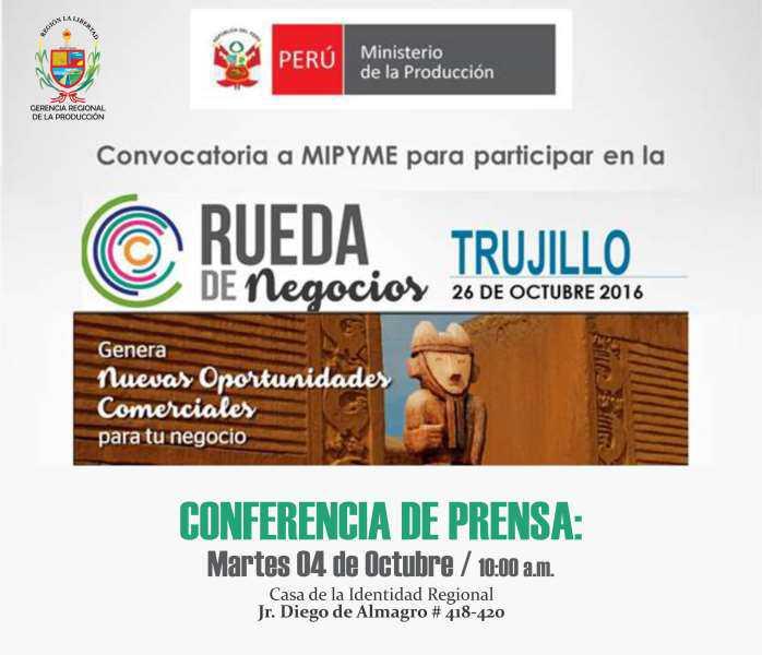 3ra Rueda de Negocios MyPerú – Trujillo 2016