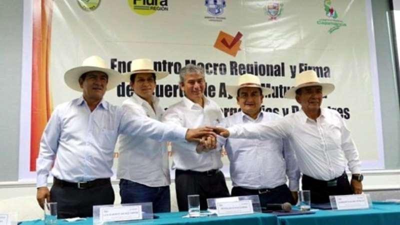 gobernadores de Macro Región Nor Oriente