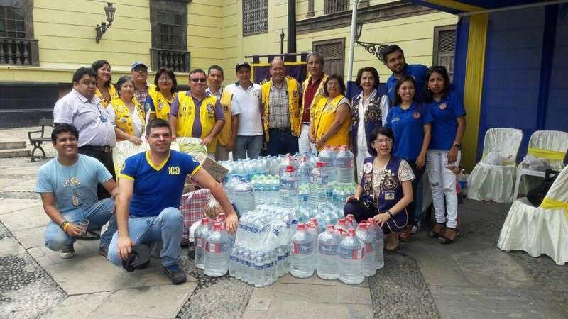 Clubes de Leones llevará ayuda a damnificados de Chiclayo
