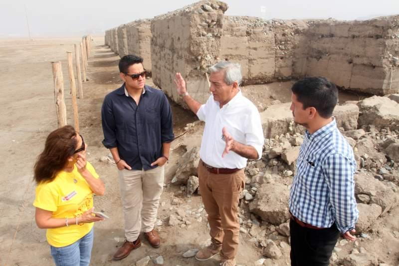 Comuna promueve restauración de 'La máquina de arcilla'