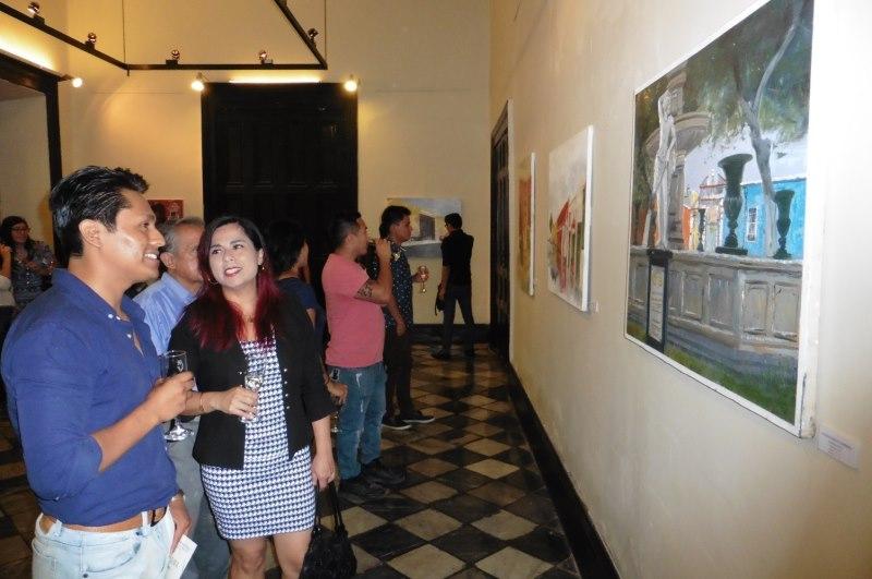 MPT inauguró exposición del II Concurso de pintura al aire libre 'Trujillo histórico'