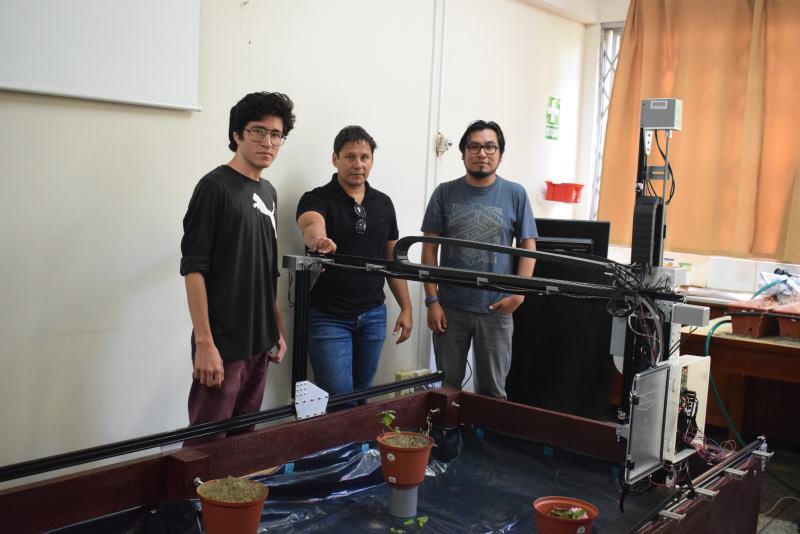 Investigadores trujillanos perfeccionan sistema robótico para agroindustria