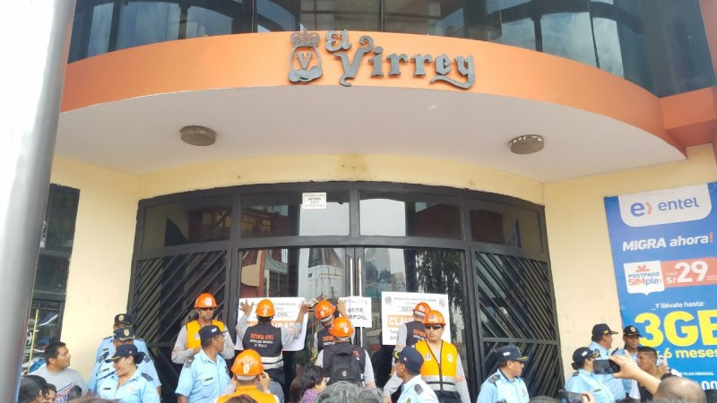 Municipio clausura 'El Virrey' por presentar fallas en seguridad