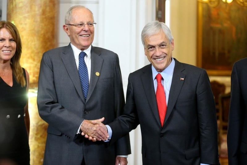Pablo Kuczynski y Piñera