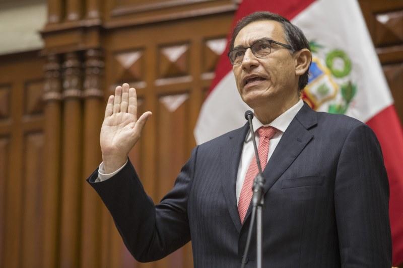 Presidente de la República Martín Vizcarra