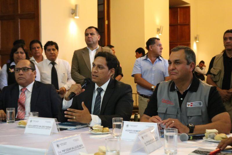 ministro del Interior, Vicente Romero