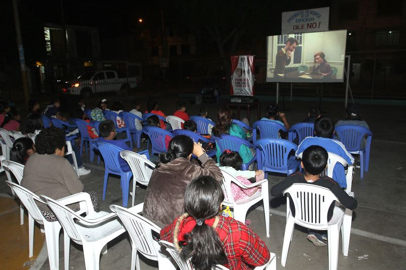 proyección gratuita de programa 'Barrio Cine'