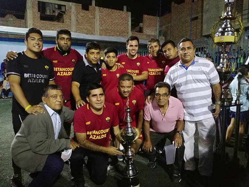 Campeonato organizado por la municipalidad de Salaverry