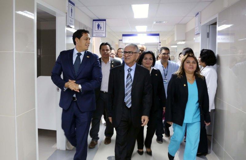 Llegarán más recursos para mejoras y equipamiento del hospital Belén