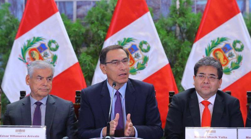 Presidente Vizcarra aprueba decretos de urgencia para transferir más de 6 mil millones de soles a regiones y municipios