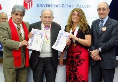 Academia peruana de la lengua reconoce y distingue trabajo de poeta liberteño