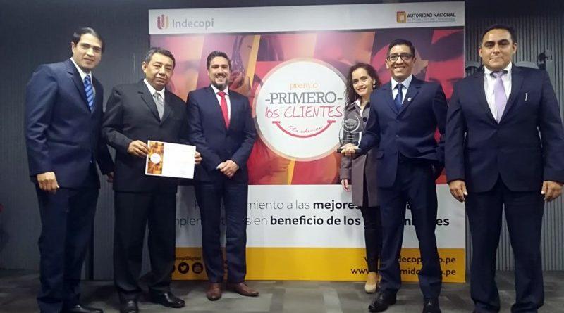 Hidrandina gana premio nacional organizado por Indecopi