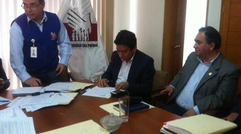 Sedalib dialoga para superar crisis del agua en parques y jardines de Trujillo por falta de pago