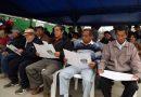 Comuna hizo entrega de 130 títulos de propiedad a vecinos de sector Alan García en El Porvenir